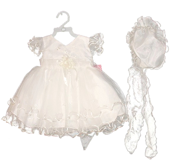 SV2025  L, XL broken packWhite Dress with hat and brooch    [Sevva]